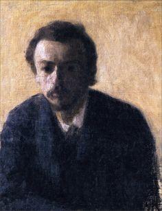 Vilhelm Hammershøi · Autoritratto · 1891 · Collezione privata
