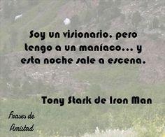 Frases de iron man de Tony Stark de Iron Man