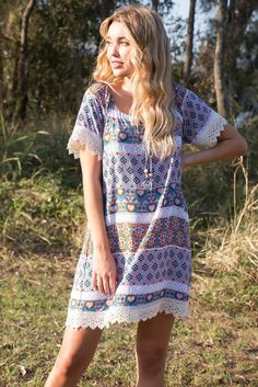 Amelia Timbuktu Day Dress Ootd Fashion, New Fashion, Fashion Outfits, Australian Boutique, Mombasa, Short Sleeve Dresses, Dresses With Sleeves, Rose Boutique, Day Dresses