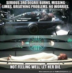 Star Wars logic<<Am I the only one that would like a real damn explanation for this? I haven't heard a good one yet.