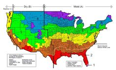 The climate zone map used by the International Residential Code was developed by the U.S. Department of Energy.