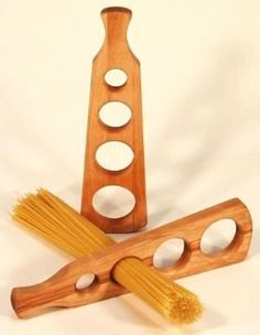 Wood Spaghetti Measures... as a paddle ;)