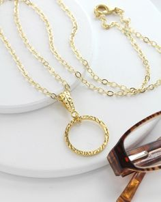 Gold Eyeglass Chain-Gold Eyeglass Necklace-Gold Lanyard-Eyeglass Chain-Glasses Chain-Eyeglass Holder-Reading Glasses Necklace-Eyewear by Maetri on Etsy https://www.etsy.com/listing/242747538/gold-eyeglass-chain-gold-eyeglass
