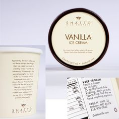 Shatto Milk Company  -  Ice Cream Packaging by Rose Gaynor, via Behance
