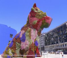 Amazing Snaps: Puppy - Guggenheim Museum Bilbao by Jeff Koons | See more