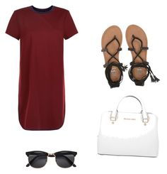 """""""Untitled #20"""" by tessagreen01 on Polyvore featuring New Look, Billabong and Michael Kors"""