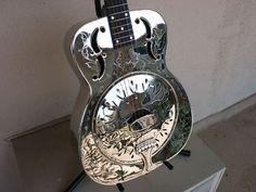 steel resonator guitar