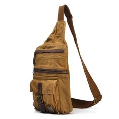 """Using high quality canvas and crazy horse leather production, with mobile phone bags. Material: excellent Canvas Antique cow leather from Italy; durable cotton fabric lining; bronze tone hardware Dimensions:  W: 9.84"""" (25 cm)  H: 11.02"""" (28cm)  D: 1.57"""" (4 cm) Weight: 0.78 KG Please contac..."""