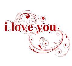 Elegant I Love You