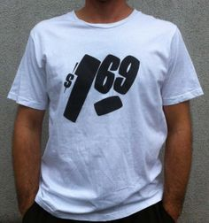 One Sixty Nine - white New T, Colors, Mens Tops, T Shirt, Black, Fashion, Tee, Moda, Black People