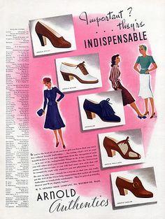 Arnold (Shoes) 1939 Authentics