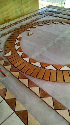 Step # 2 mosaic 6x6 ft.