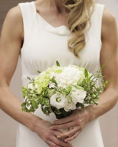 Love the simplicity of the dress #LuxBride