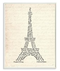 Look at this Eiffel Tower Wall Plaque on #zulily today!