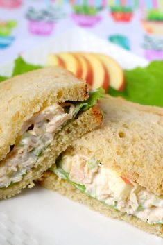 This delicious and easy to make Harvest Chicken Salad is the perfect recipe to make when you have leftover chicken. Serve as a sandwich or over lettuce this creamy crunchy salad is delish Walnut Chicken Recipe, Best Chicken Recipes, Crockpot Recipes, Soup Recipes, Salad Recipes, Turkey Recipes, Dishes Recipes, Potato Recipes, Fun Easy Recipes