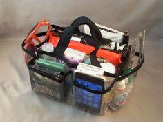 Day Delivery- Lexie Clear PVC Handbag Bag Purse Travel Cosmetic Make-Up Tote Organizer Insert Dimensions: x x Clear Handbags, Small Handbags, Diy Eco Bags, Car Console, Changing Bag, Handbag Organization, Clear Bags, Vintage Handbags, Small Bags
