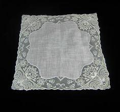 Ladies Vintage Handkerchief Vintage White by VintageSouthernPicks