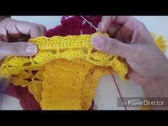 Crochet Diagram, Filet Crochet, Diy Crochet, Crochet Top, Bikinis Crochet, Crochet Bikini Top, Arm Knitting, Knitting Patterns, Crochet Patterns