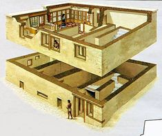 Image result for ancient phoenician house reconstructed