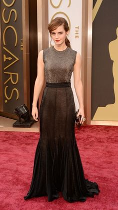 Emma Watson no Oscar 2014