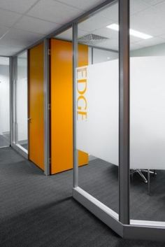 Great way to dress up different conference rooms