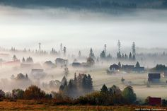 BESKYDY MOUNTAINS IN THE MORNING.......  photo by Pavel Zubek