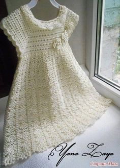 Delicadezas en crochet Gabriela: Vestido de niña