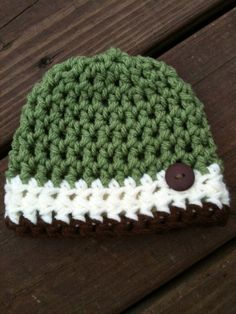 Cute little accessory for your baby boy!     If you are ordering a LARGE SIZE, please include in your note upon ordering what age the hat needs to be for and I can make it accordingly!
