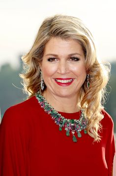 Queen Maxima of The Netherlands attends a concert offered to the Grand Ducal family on May 24, 2018 in Luxembourg, Luxembourg. The Dutch King and Queen are in Luxembourg for an three day state visit