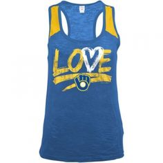 Find the  Misses' Milwaukee Brewers Tank Top - Royal Blue by  at Mills Fleet Farm.  Mills has low prices and great selection on all Tank Tops.