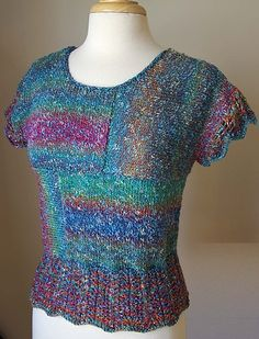 Ravelry: Tempo Pop Art Top pattern by Irina Poludnenko