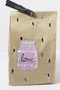"""Shades of Love"" gift bag tutorial"