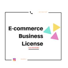 Affordable #ECommerceTradeLicenseinUAE from AED 8,800 with 0 Visa package! Can add up to 5 Share holders in one license.  Start your #onlinebusinessinuae and sell online products with the benefits of having a lower cost maintenance, multiple ways of marketing your online products and a lot more.  Get in touch now and start your application with the cheapest free zone license.  To start your application, Call or Whatsapp: +971-5444-72157  #ecommerce #tradelicenseinuae Dubai Business, E Commerce Business, Online Business, Online Trading, Selling Online, Ecommerce, Ads, Touch, Marketing
