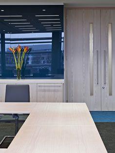 Prettier view of U-Shape table image - Boardroom   Originate Architects
