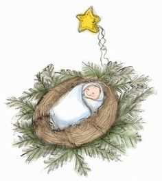 This would make an adorable tree ornament.  Gotta start looking for small craft bird nests and design my own 'love-nest'.