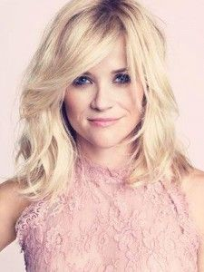 Easy, Breezy Babe shag haircut with long feathered layers. Reese Witherspoon