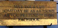 Best Facebook quote ever!