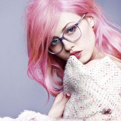 Chanel fall 2014 glasses envy- Charlotte Free you lucky girl! Tapped for model cover on this falls eyewear <3 beautiful girl and beautiful glasses! AMEN