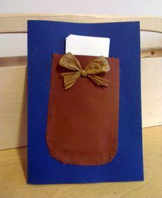 Isänpäiväkortti - suunnittele taskullinen kortti, kirjoita ajatuksesi isästä sisään (valmis pohja tai vapaa teksti).