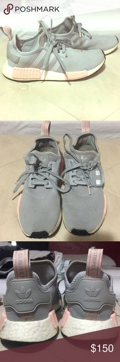 2ebb144817 EUC Adidas NMD pink and gray Super cute Adidas NMD style tennies ! Good  condition other