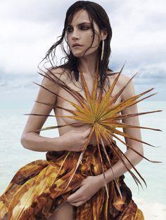 Missy Rayder by Catherine Servel for WSJ Magazine March 2011.