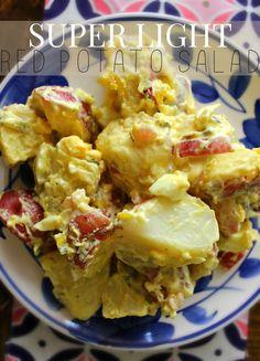 Super Light Red Potato Salad – Simply Taralynn