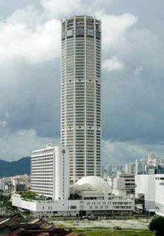 Komtar Tower, or Menara Komtar Complex is Penang's tallest building and the sixth tallest building in Malaysia located in the heart of George Town