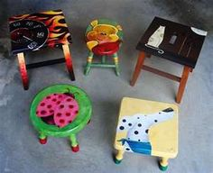 Hand Painted Children's Furniture Home
