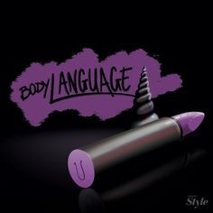 Body language lipstick.
