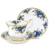Moonlight Rose by Royal Albert is my China set. My aunt has been giving me one piece every Christmas since I was born. Love the classic, dainty pattern, but would like to display it.