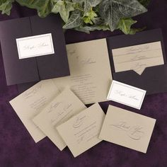 Occasions to Blog: 2014 Wedding Color - Purple (Invitation Link - http://www.occasionsinprint.com/pinterest-board---purple-wedding-invitations.html)