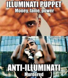 Illuminati puppet Jay-Z,  jajaja so true