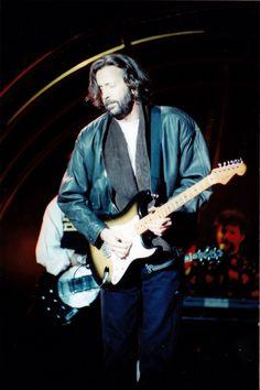 Clapton on tour 1989