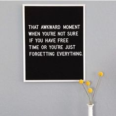 Felt letter board inspiration quotes. Forget . #ad #quotes #letterboard #funny #awkwardmoments